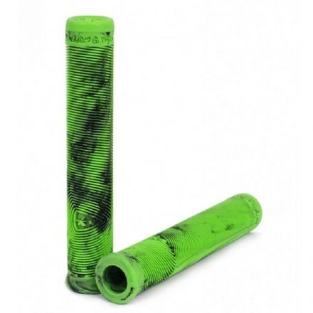 Subrosa Griffin DCR Grips - Black / Neon Green Marble